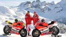 2011: Valentino Rossi y Nicky Hayden, Ducati