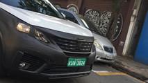 Peugeot 5008 - Flagra no Brasil