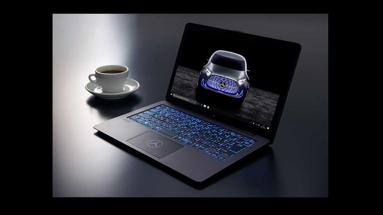 Mercedes-Sony laptop