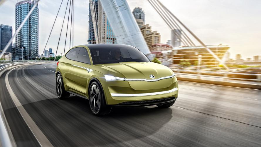 Shanghai 2017 - Škoda présente son avenir en électrique avec la Vision E