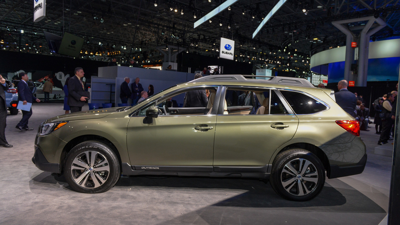 Refreshed 2018 Subaru Outback Introduces Sharper Look For
