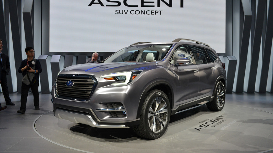 Subaru Ascent Shown More Production-Ready In NY
