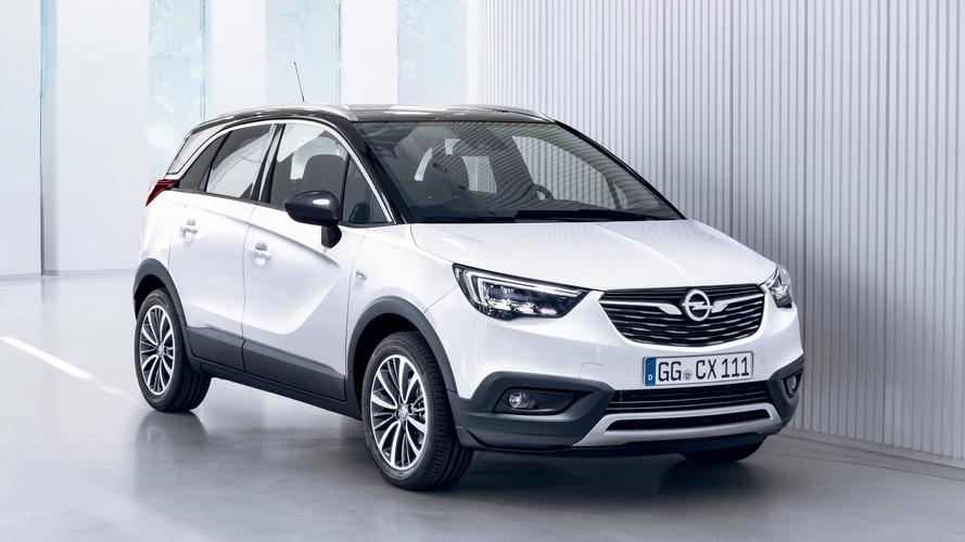 Opel Crossland X fabrikadan LPG ile alınabilecek