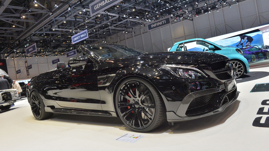 Brabus brings sinister 200-mph Mercedes-AMG C63 S Cabriolet to Geneva