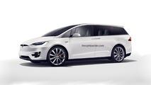 Tesla Minivan Konsepti Theophilus Chin