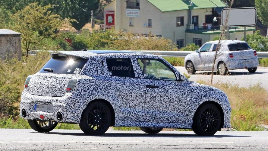 2017 Suzuki Swift, geniş egzoz uçları ile dikkat çekiyor