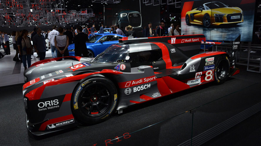 2017 Motorsports cars at Paris Motor Show