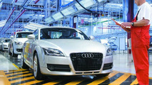 Quality control of the Audi TT Coupe