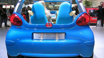 Open top Toyota AYGO for Sports