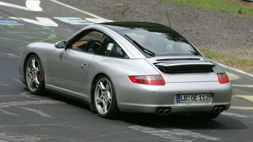 More Porsche 911 Targa Spy Photos