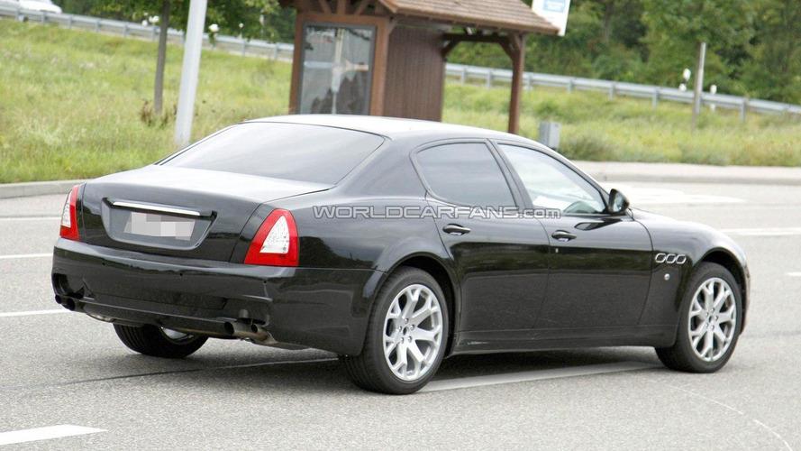 2012 Maserati Quattroporte test mule spied [video]