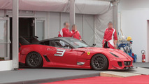 Ferrari 599XX EVO live at the Bologna Motor Show [video]