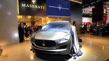 Maserati Kubang SUV live in Frankfurt 13.09.2011
