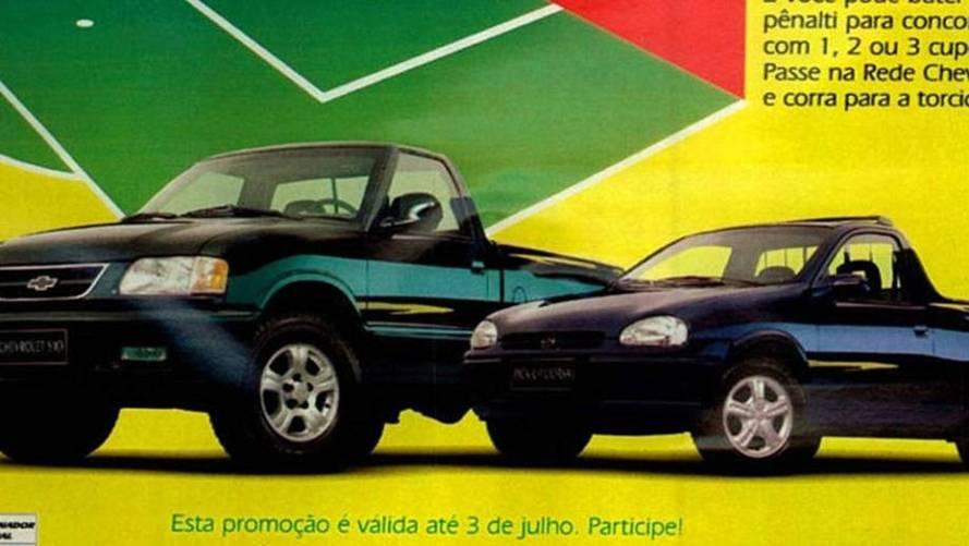 Chevrolet Corsa Pick Up e S10 Champ 1998