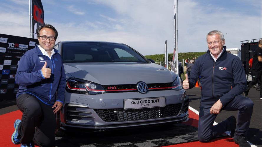 VW mostra o Golf GTI TCR Concept ao público, a versão mais rápida já feita