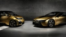 Altın Kaplamalı BMW i3 ve i8 Starlight Edition