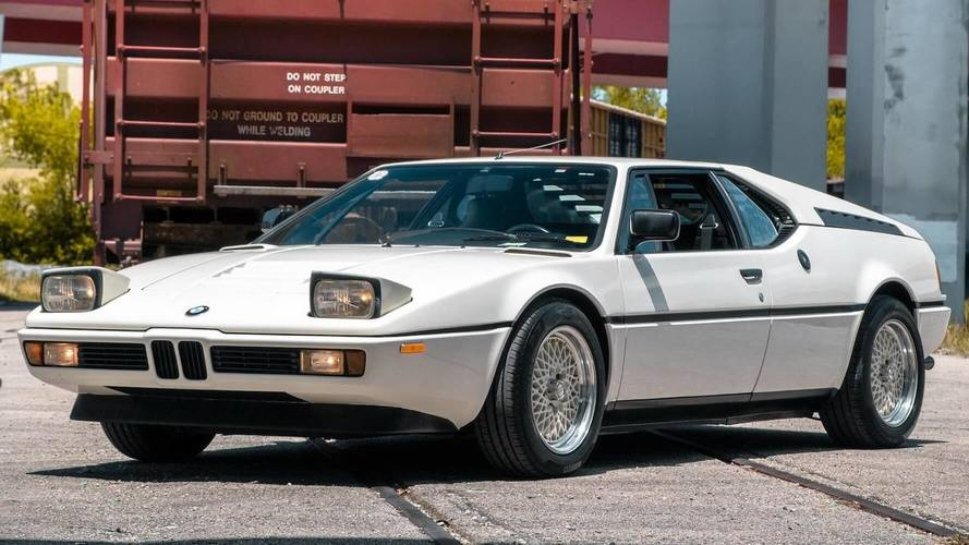 Low-Mileage BMW M1 Can Be Yours For A Cool $875,000