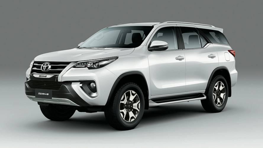Muito cara, Toyota SW4 Diamond deixa de ser vendida na Argentina