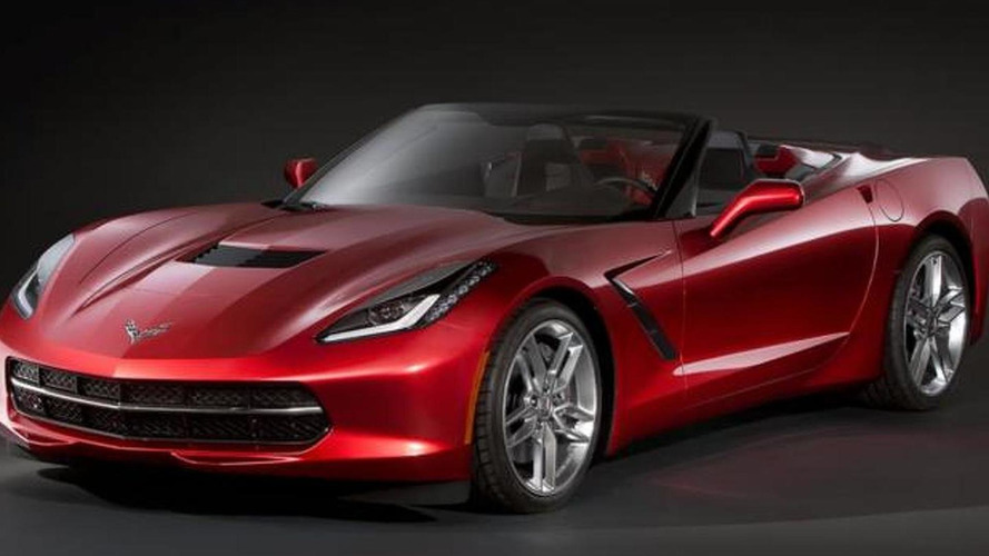 Chevrolet Corvette Stingray Convertible already leaked ?
