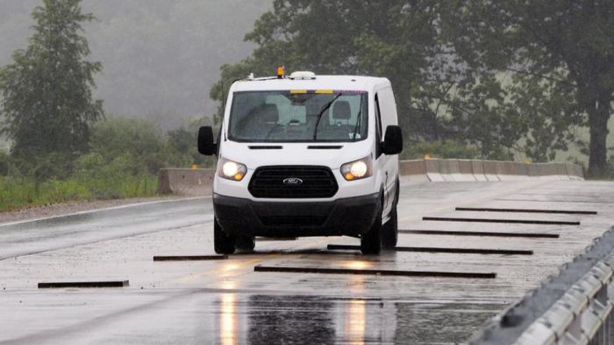 Ford uses robots to test Transit durability [video]
