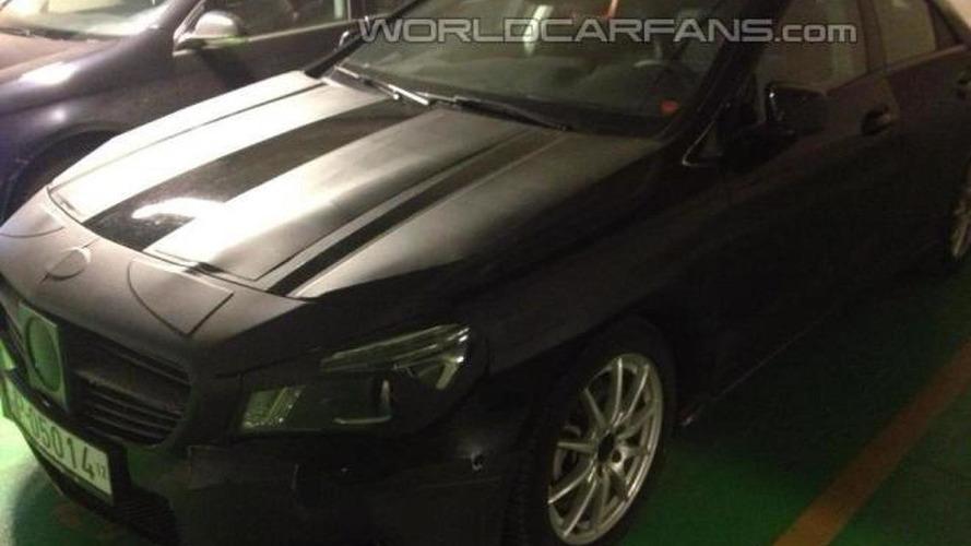 Mercedes-Benz CLA spied up close by WCF reader