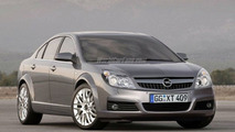 Opel Vectra - Artist Impression