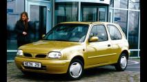 Nissan Micra II, le foto storiche