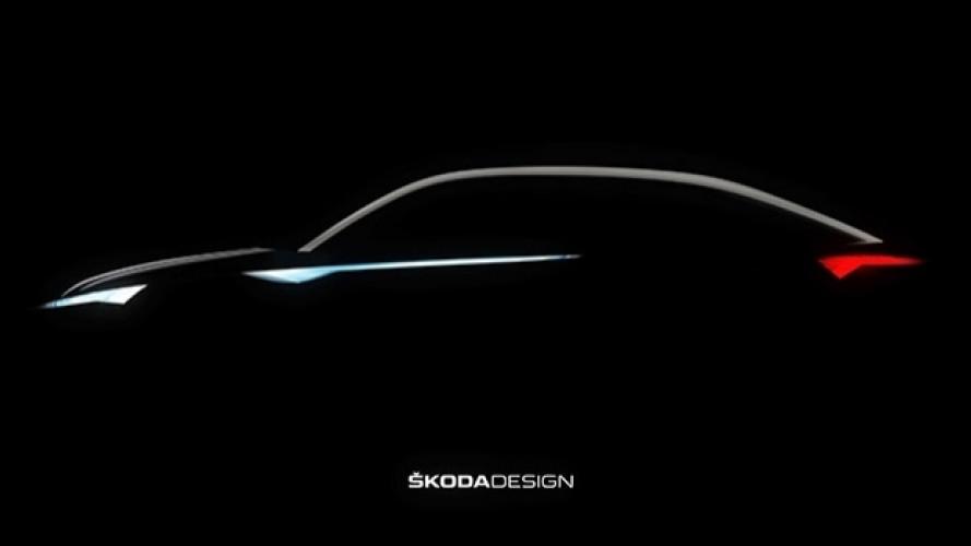 Skoda, prove di SUV coupé