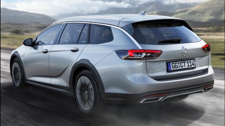 Nuova Opel Insignia Country Tourer, lo sterrato non fa paura
