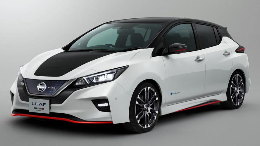Nissan Leaf Nismo concept revealed ahead of Tokyo show