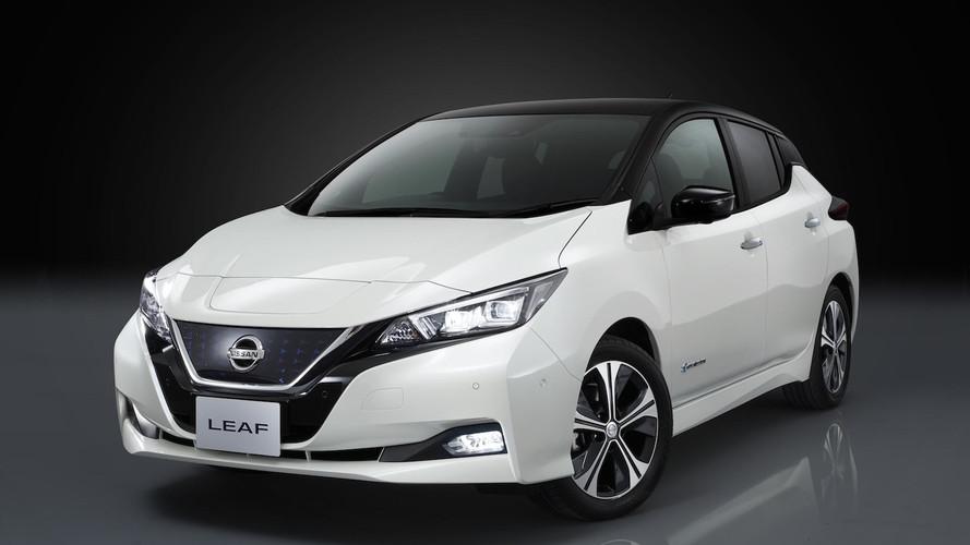 Nissan Leaf  Elle flirte avec les 400