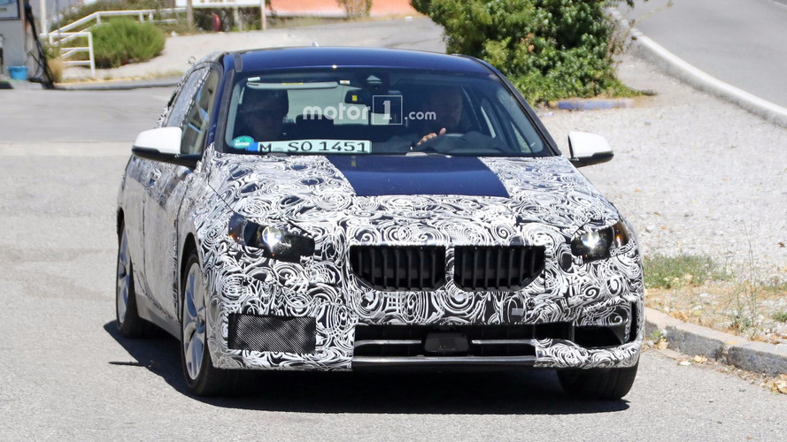 2019 bmw 1 series spied with less camouflage photos. Black Bedroom Furniture Sets. Home Design Ideas