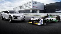 Audi Formula E racing car
