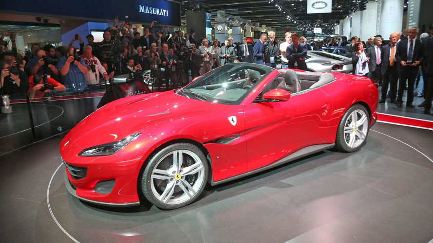 Ferrari Portofino Draws The Crowds With Its Beautiful Metal