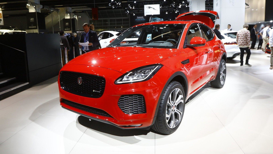 Jaguar E-Pace Skips Barrel Roll For Frankfurt, Still Looks Great