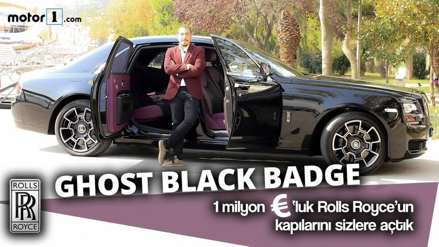 Rolls-Royce Ghost Black Badge İlk Sürüş İncelemesi