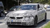 BMW 3 Series spy photo