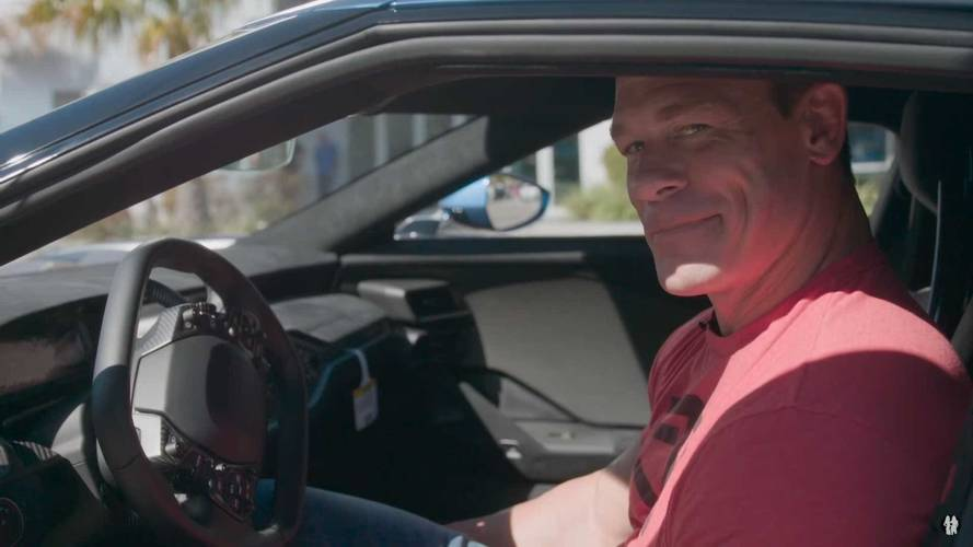 John Cena Reportedly Sued By Ford After Selling Supercar