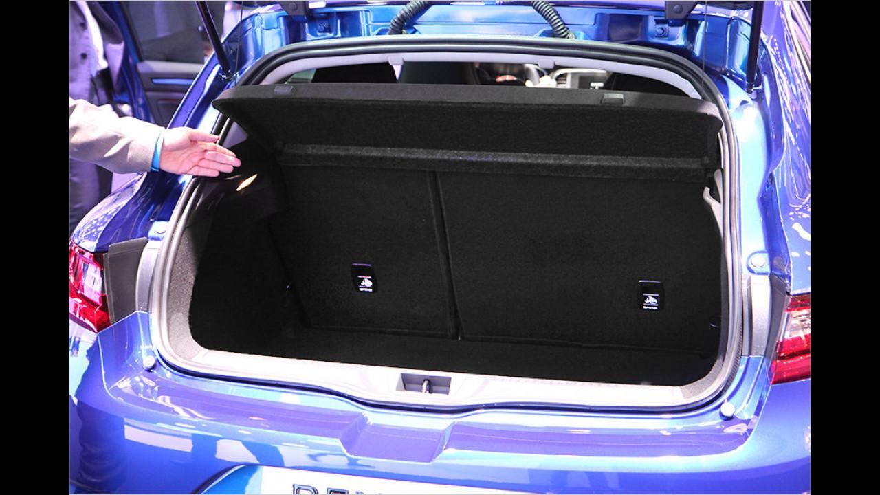 Viel Platz für Gepäck