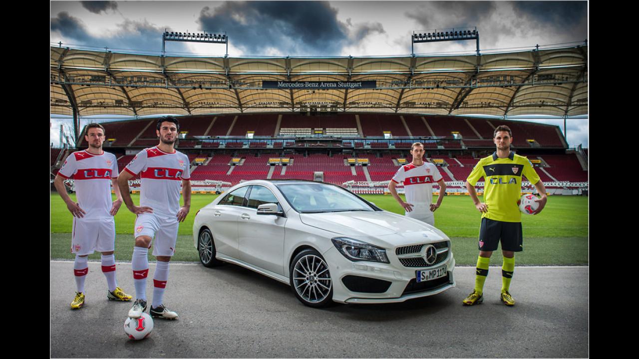 VfB Stuttgart: Mercedes CLA
