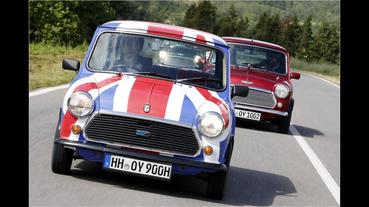 Mini: über 5 Millionen (1959 bis 2000)