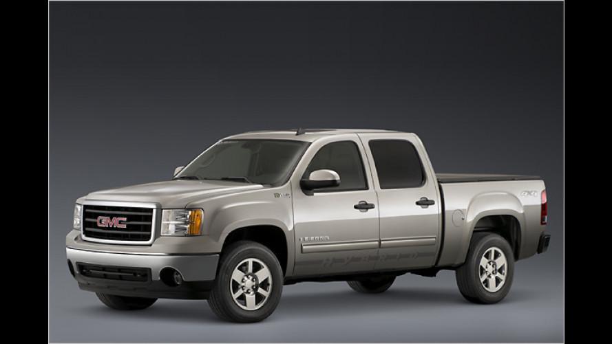 Sparsamer Pick-up: GMC bringt den Sierra mit Hybridantrieb