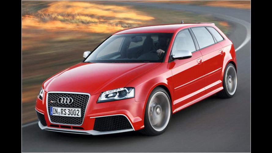 Der stärkste Kompaktwagen: Audi RS 3 Sportback