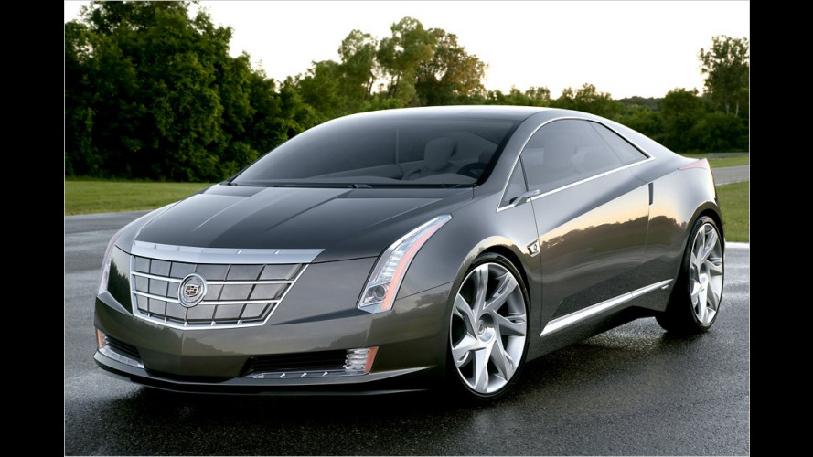 Cadillac ELR: Neues Luxus-Coupé mit Elektroantrieb