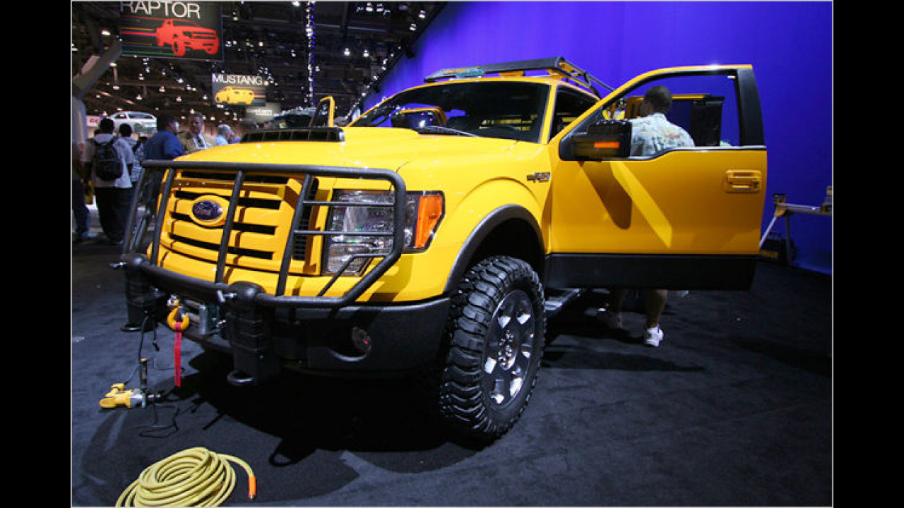 Ford F-150 DeWALT Heavy Duty Contractor
