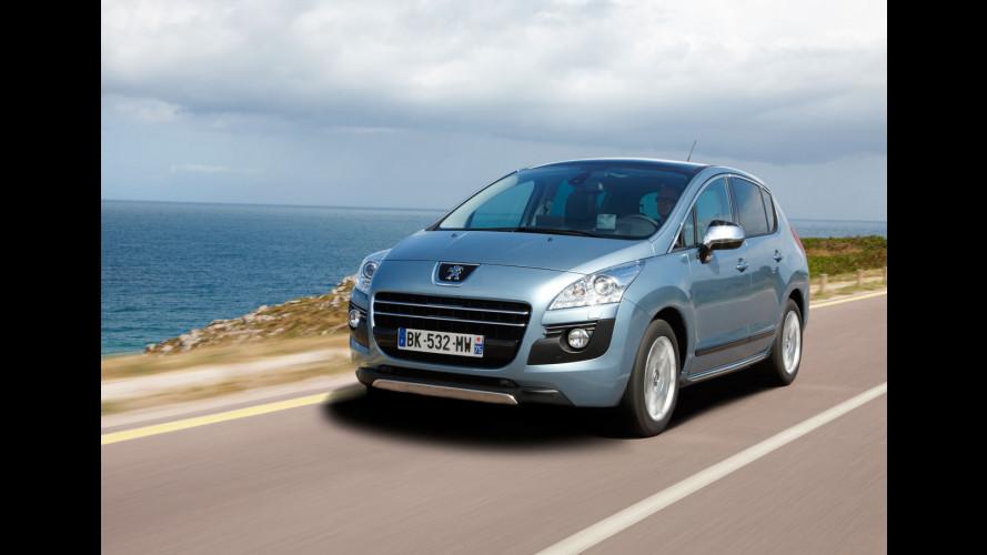Peugeot 3008 HYbrid4, piacevole e rassicurante