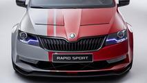 Skoda Rapid Sport concept 25.05.2013