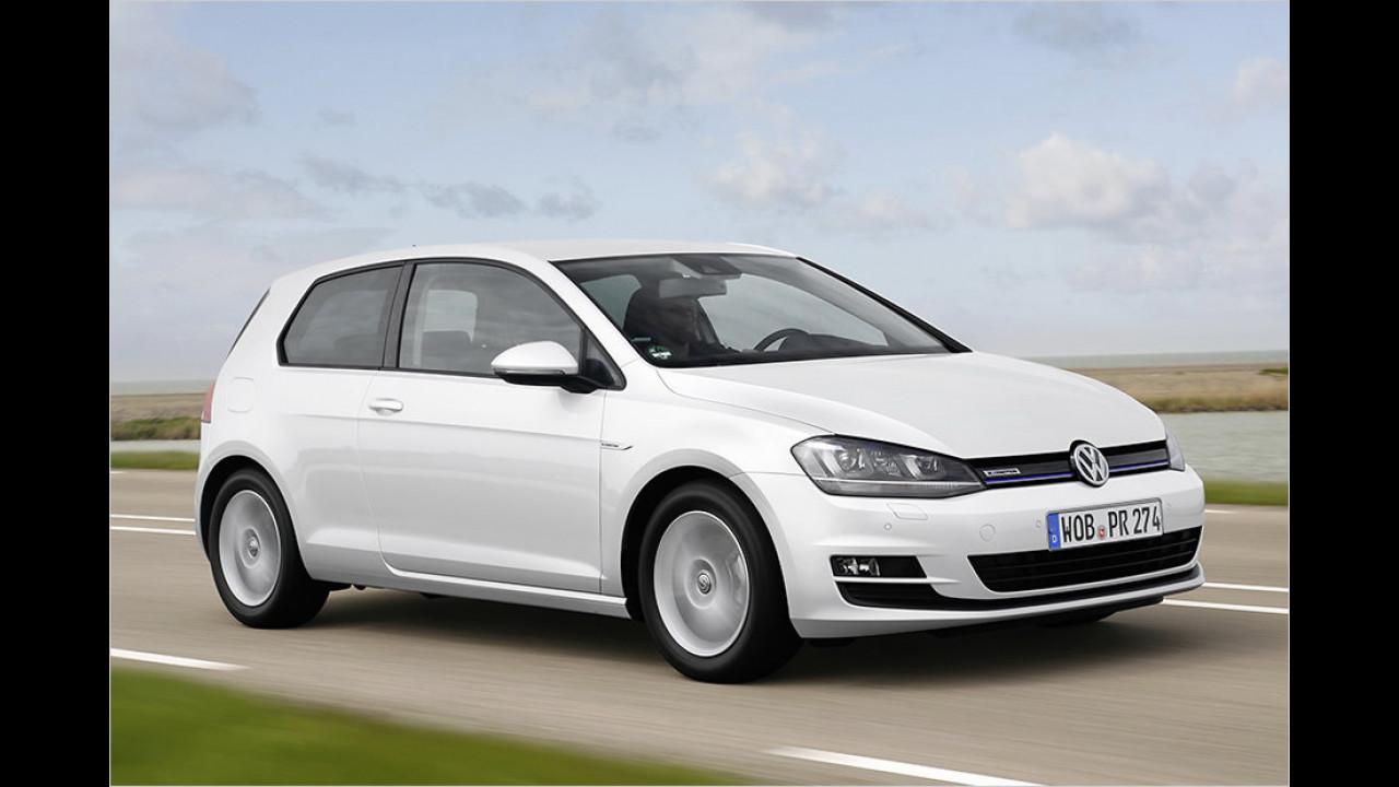 Auflösung: Der VW Golf