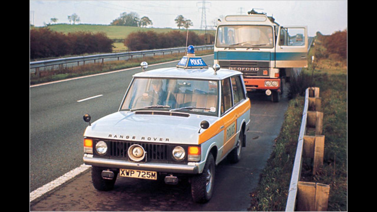 Range Rover Autobahnpolizei