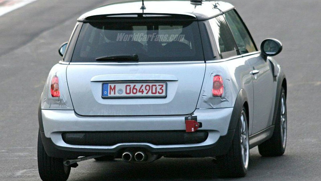 Spy Photos: New Mini Cooper S